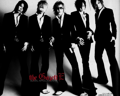 The Gazette wallpaper titled ガゼットのWALLPAPER