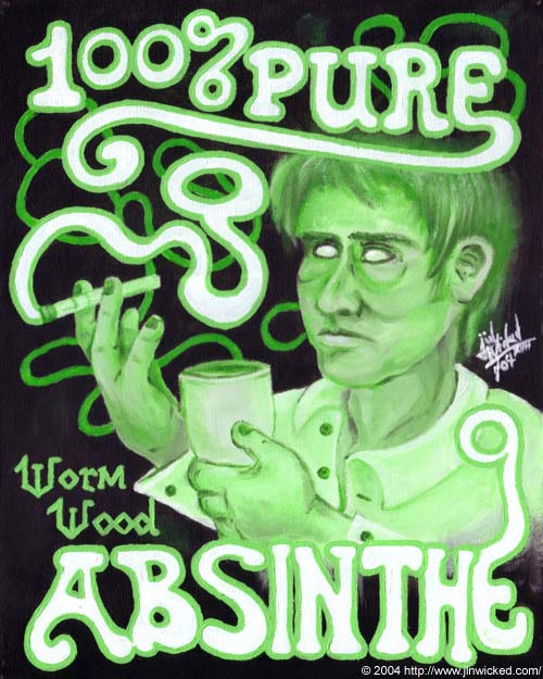 "100% Pure Absinthe"" - Absinthe Fan Art (405004) - Fanpop"