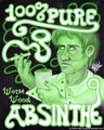 """100% Pure Absinthe"" - absinthe fan art"