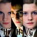 Hermione-Harry-Ginny - love-triangles icon