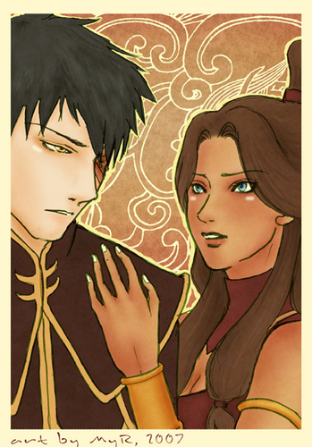 "Zutara: Of Fire and Water wallpaper titled ""A Comfort"""
