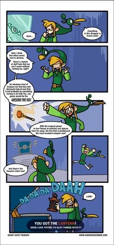 "The Legend of Zelda wallpaper called ""Abrogated Arson"" Comic"