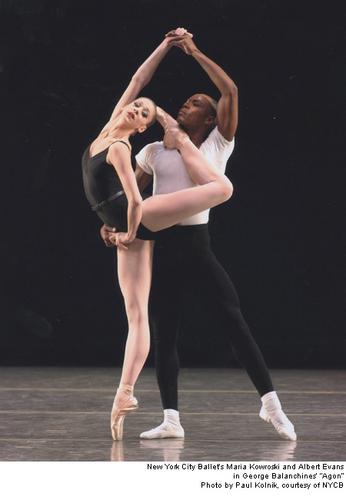"""Ballet wallpaper titled """"Agon"""" - NYCB"""