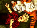 &quot;Best Friends&quot; - calvin-and-hobbes fan art