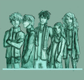 """Cheese"" - the-new-kids-from-harry-potter fan art"
