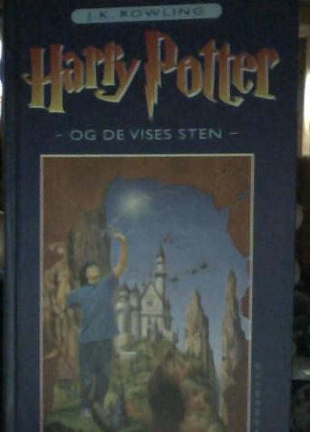 Danish Harry Potter book