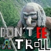 """Don't be a troll"" icon - atsof icon"