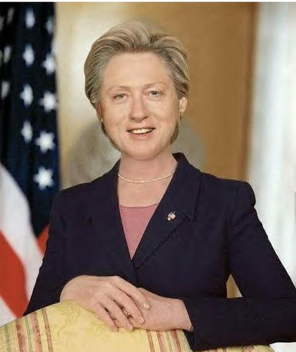 """Hill"" Clinton"