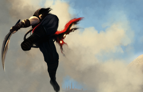 "Prince of Persia wallpaper entitled ""Le Parkour"""