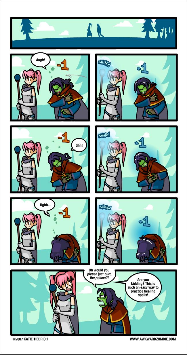 """Poison Control"" Comic"