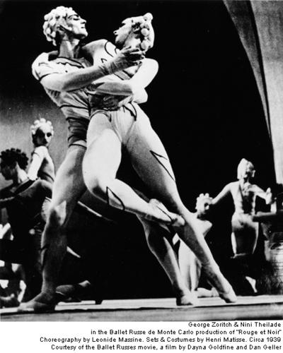 """""""Rouge et Noir"""" -Ballet Russes"""