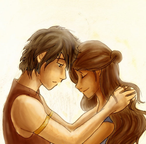 "Zutara: Of Fire and Water wallpaper entitled ""The Sunlight"""