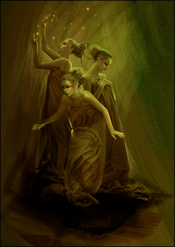 """""""The Three Muses"""""""