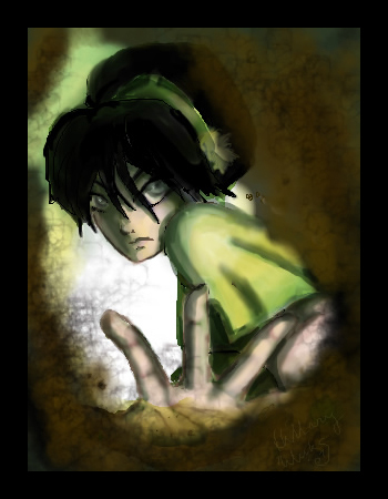 the airbender toph art last Avatar