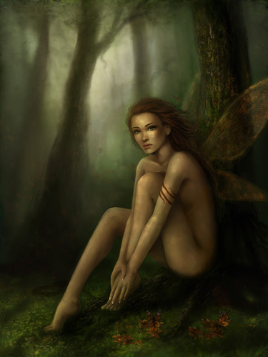 """Underneath"" Fairy Art"