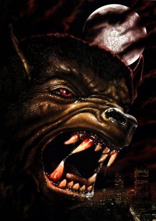 manusia serigala wallpaper entitled 01