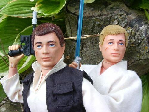 1/6th Scale Luke and Han