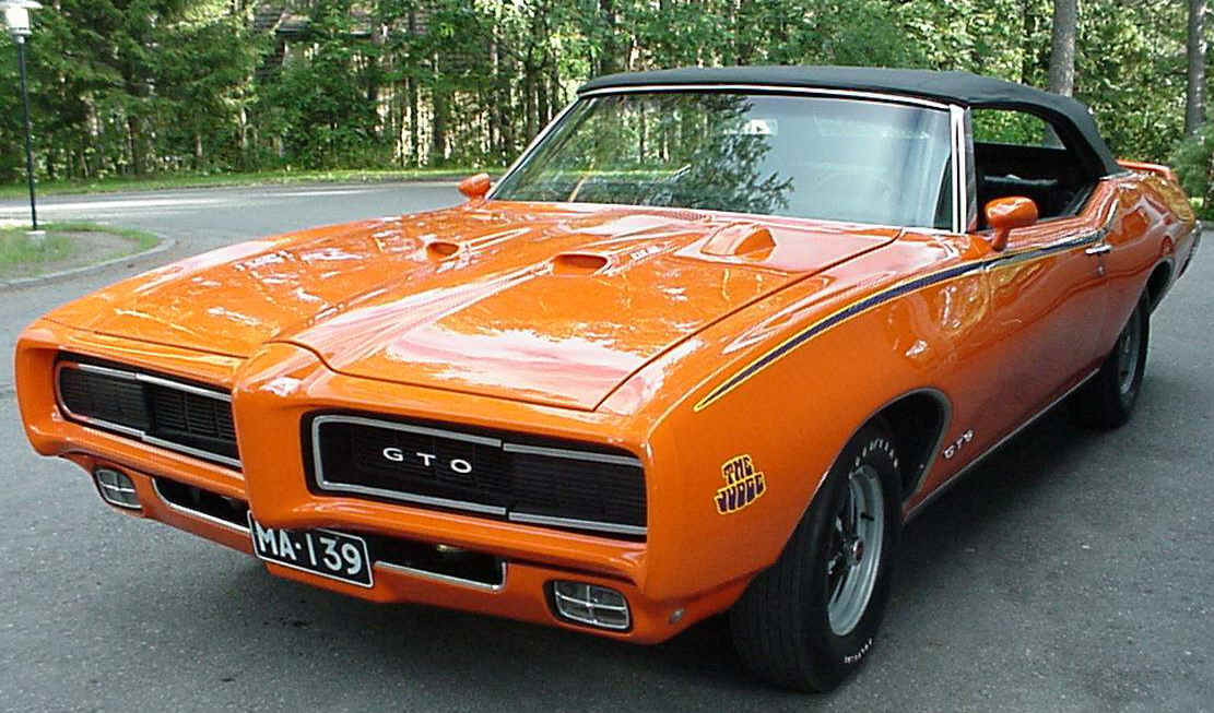 1969 Pontiac GTO Muscle Car