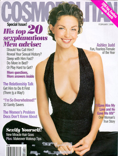 Cosmopolitan wallpaper entitled 1998 Cover