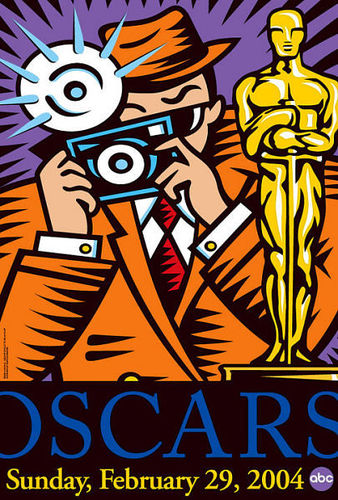 2004 Oscars Poster