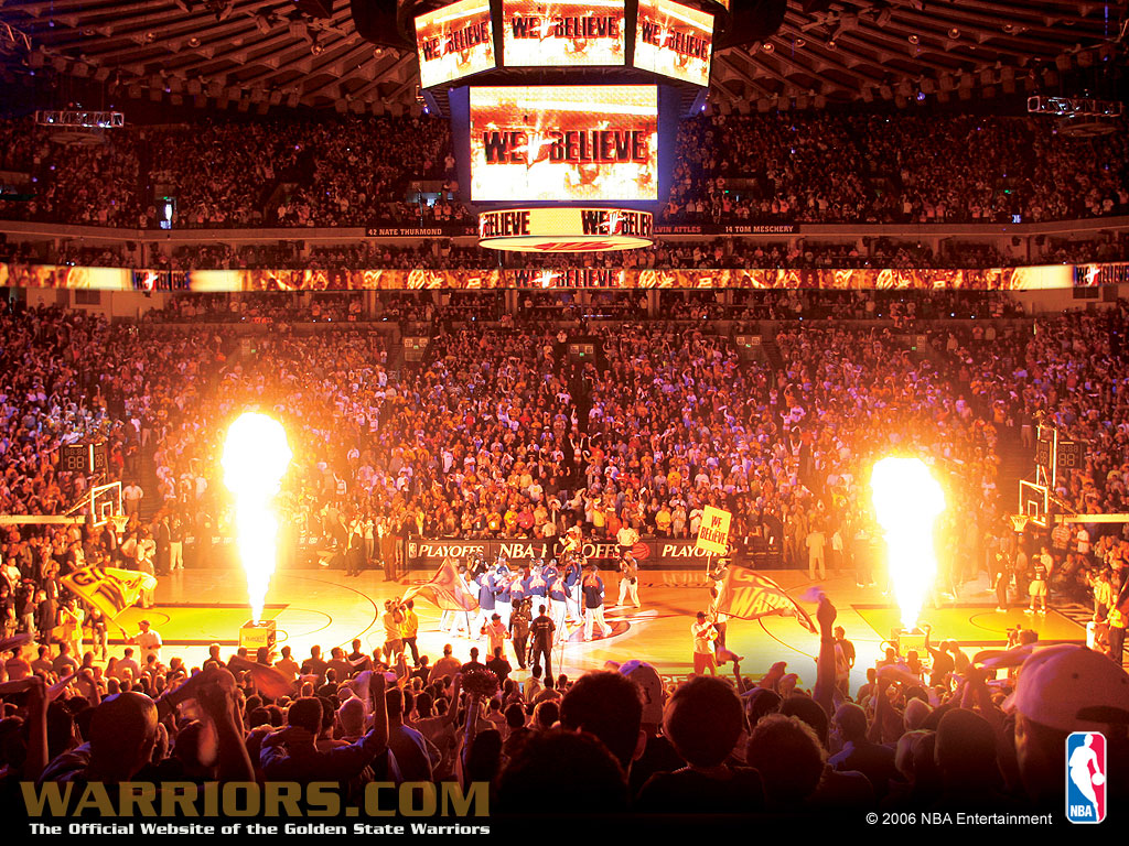 2007 NBA Playoffs - Golden State Warriors Wallpaper (37311 ...