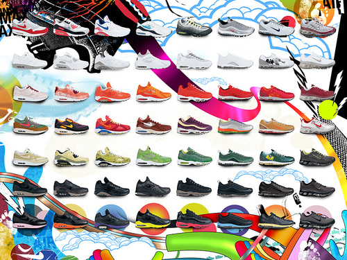 3 Decades of Air - nike Wallpaper
