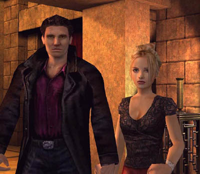 3D animated buffy and angel