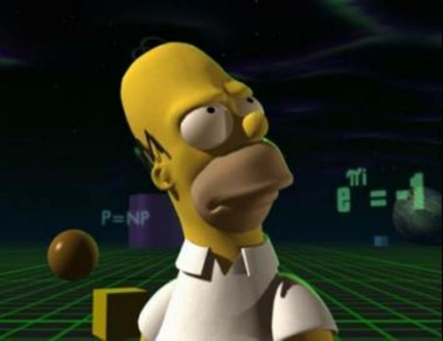 os simpsons wallpaper entitled 3D homer