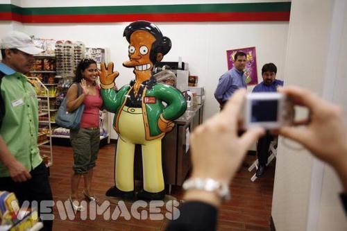 7-Eleven as Kwik E-Mart