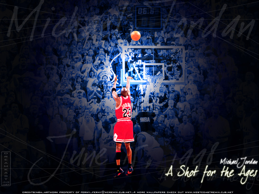 Michael Jordan A Shot for the Ages