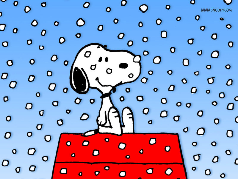 snoopy christmas wallpaper. A Snoopy Christmas