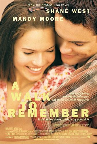 Nur mit Dir - A Walk to Remember Hintergrund called A Walk To Remember Poster