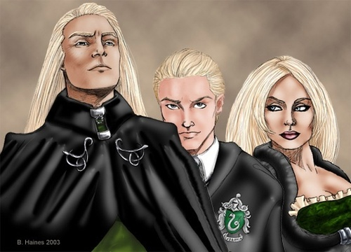 A happy Family - the-malfoy-family Fan Art