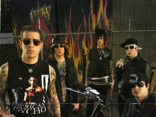 Avenged Sevenfold wallpaper entitled A7x groupshot
