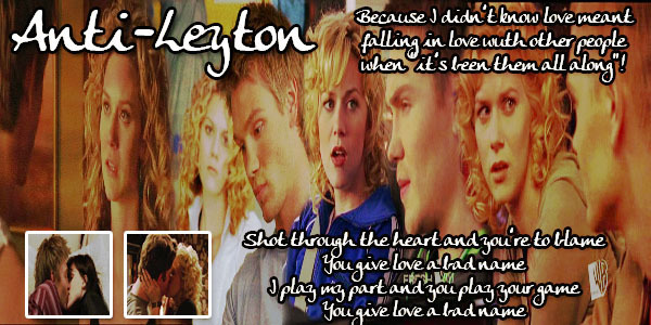 ANTI PEYTON&LEYTON!!!