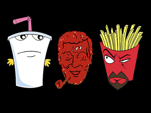 Aqua teen hunger force sound bites