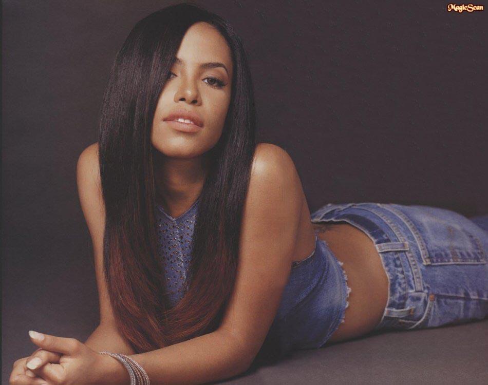 R Kelly And Aaliyah Aaliyah - Aaliyah Phot...