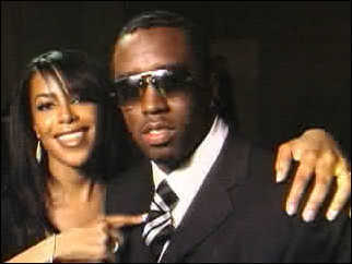 Aaliyah and P.Diddy