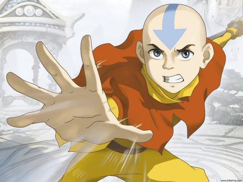 Aang Air bending