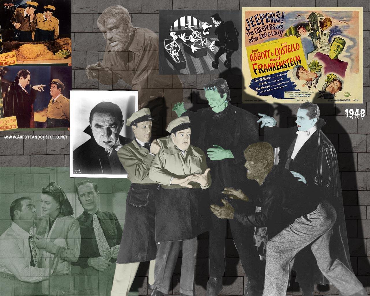 abbott and costello meet frankenstein wallpaper downloads