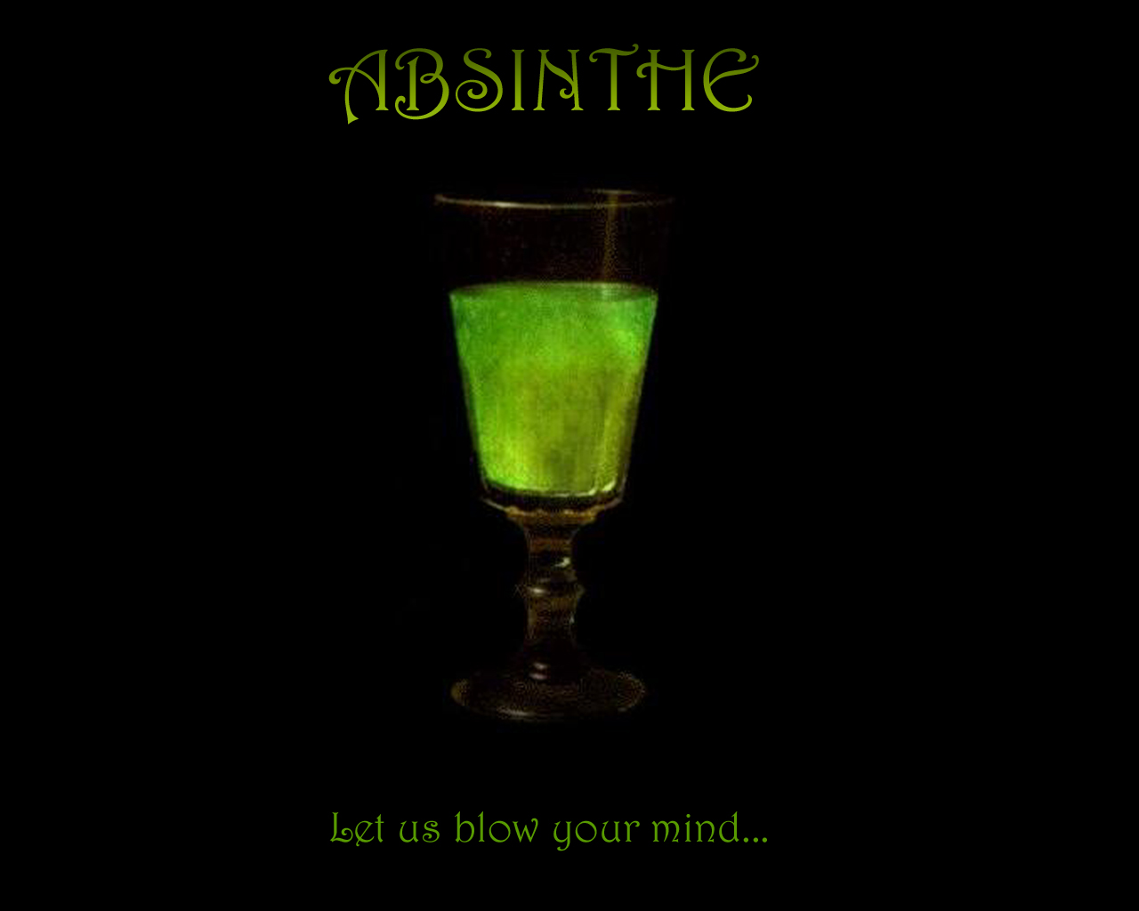 Absinthe Wallpaper