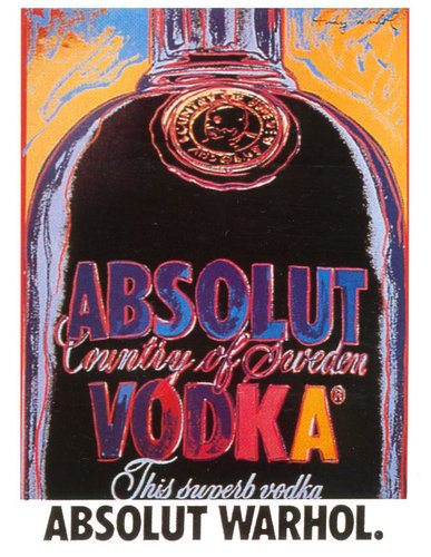 伏特加 壁纸 entitled Absolut Warhol