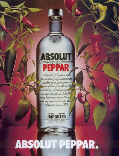 Vodka wallpaper entitled Absolut