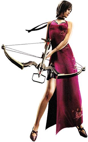 Resident Evil Hintergrund entitled Ada (RE4)
