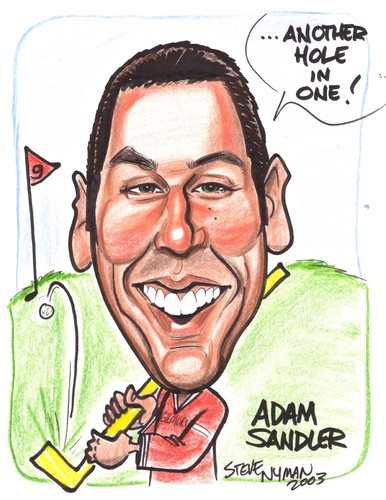 Adam Sandler wallpaper entitled Adam Sandler Caricature