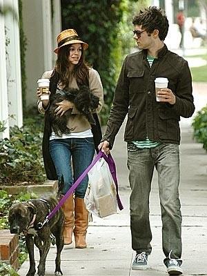 Adam and Rachel Bilson