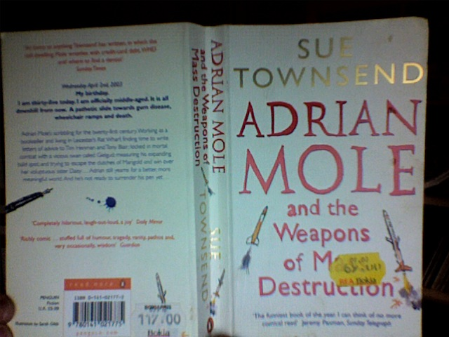 adrian mole and the weapons of mass destruction book review