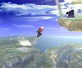 Aerial Recovery - super-smash-bros-brawl photo