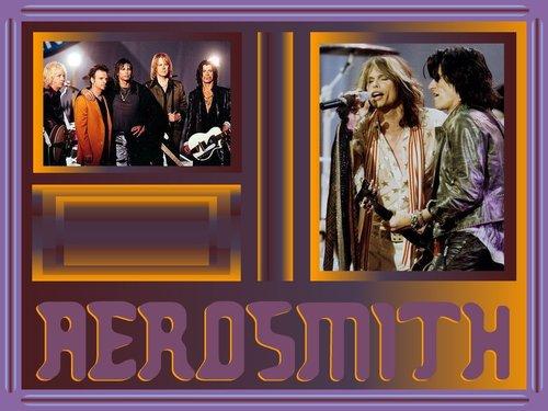 Aerosmith Hintergrund titled Aerosmith