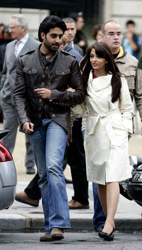 Aishwarya Rai with hubby